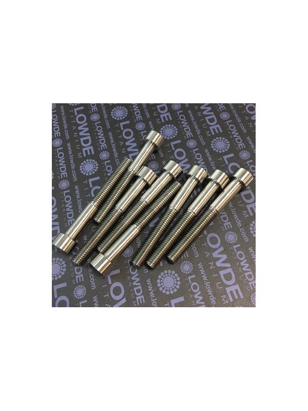 Tornillo DIN 912 M10x80 mm. de titanio gr. 2 (puro) - Tornillo DIN 912 M10x80 mm. de titanio gr. 2 (puro)