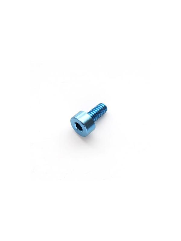 DIN 912 M2x4 azul titanio gr. 5 (6Al4V) - Tornillo DIN 912 M2x4 mm. de titanio gr. 5 (6Al4V) AZUL