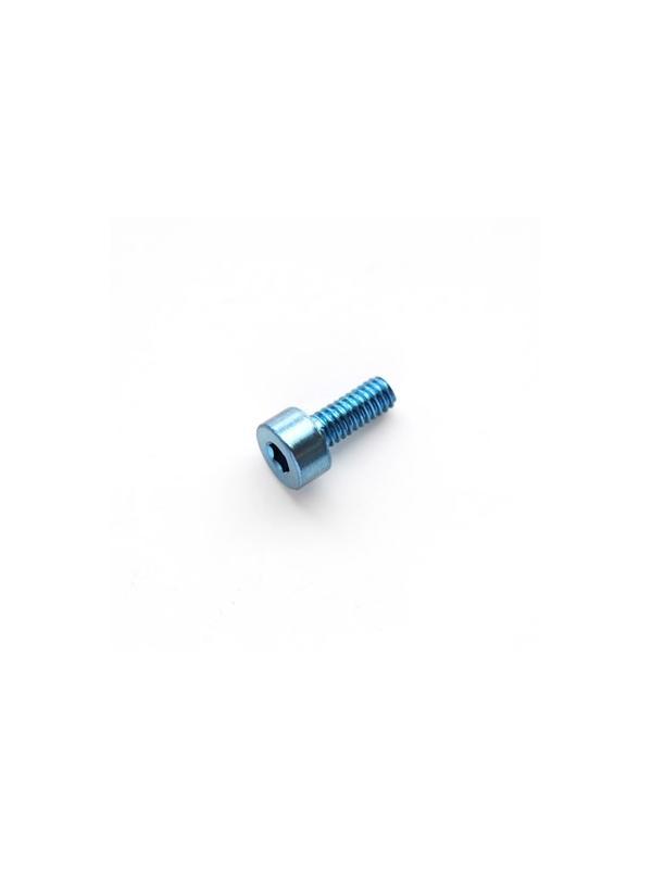 DIN 912 M2x5 azul titanio gr. 5 (6Al4V) - Tornillo DIN 912 M2x4 mm. de titanio gr. 5 (6Al4V) AZUL