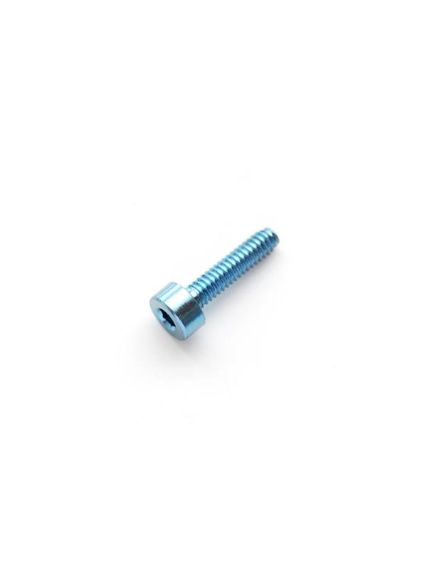 DIN 912 M2x8 azul titanio gr. 5 (6Al4V) - Tornillo DIN 912 M2x8 mm. de titanio gr. 5 (6Al4V) AZUL