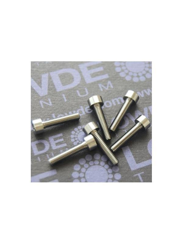 Tornillo DIN 912 M3x16 mm. de TITANIO gr. 5 (6Al4V) - Tornillo DIN 912 M3x16 mm. de titanio gr. 5 (6Al4V)