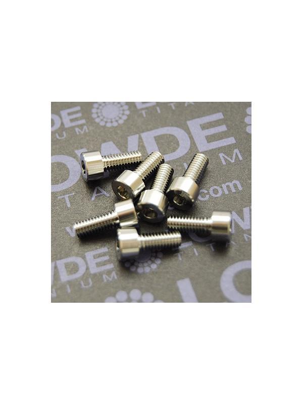 DIN 912 M4x10 titanio gr. 5 (6Al4V) - Tornillo DIN 912 M4x10 mm. de titanio gr. 5 (6Al4V)