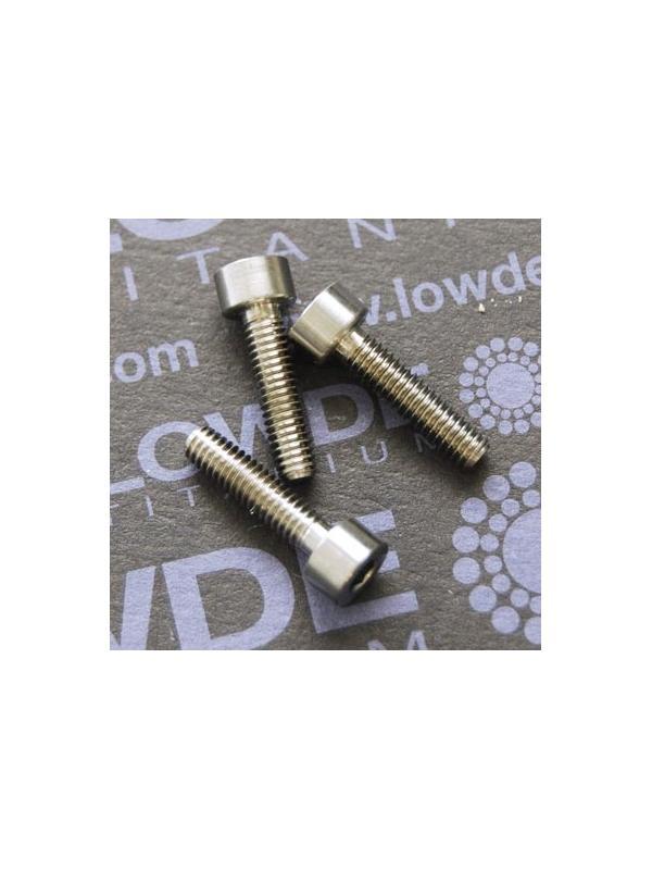 DIN 912 M4x16 titanio gr. 5 (6Al4V) - Tornillo DIN 912 M4x16 mm. de titanio gr. 5 (6Al4V)