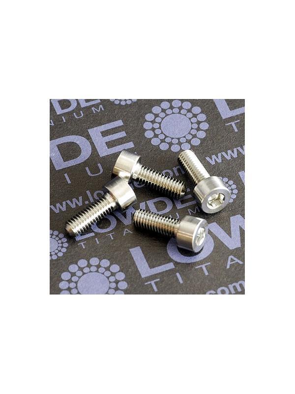 DIN 912 M5x14 titanio gr. 5 (6Al4V) - Tornillo DIN 912 M5x14 mm. de titanio gr. 5 (6Al4V)