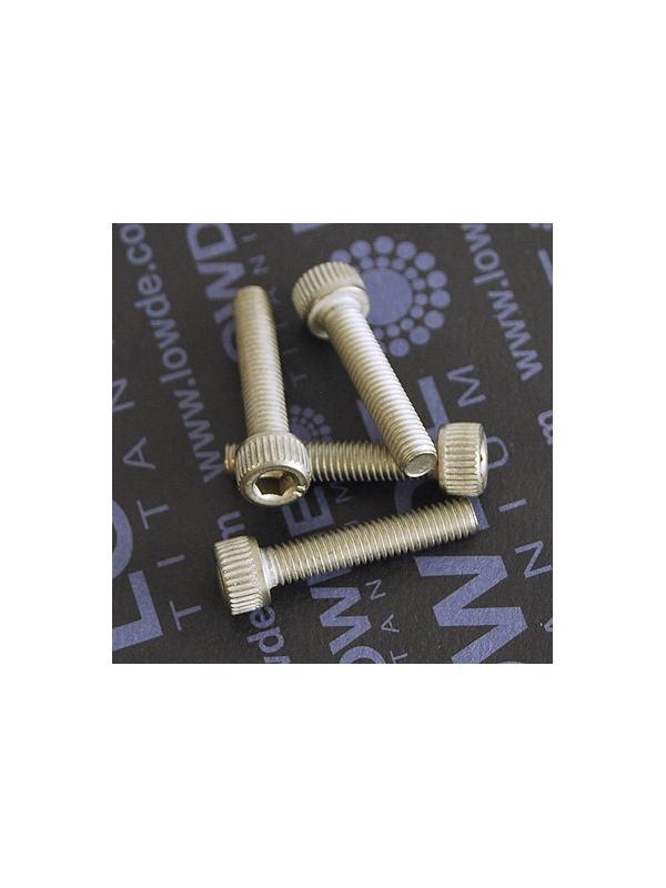 Tornillo DIN 912 M5x25 mm. de titanio gr. 2 (puro) - Tornillo DIN 912 M5x25 mm. de titanio gr. 2 (puro)