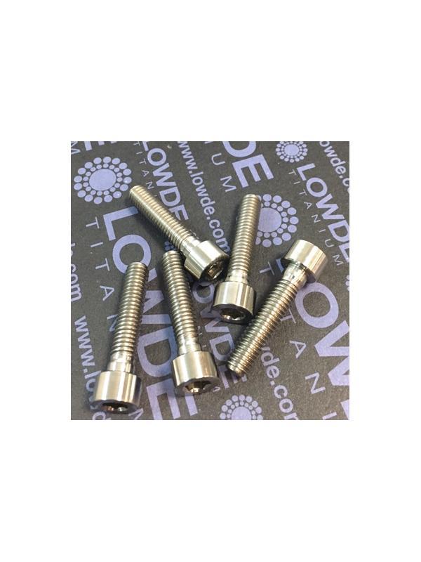 DIN 912 M6x28 titanio gr. 5 (6Al4V) - Tornillo DIN 912 M6x28 mm. de Titanio gr. 5 (6Al4V)
