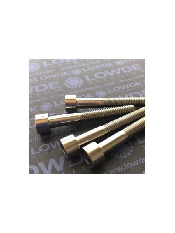 Tornillo DIN 912 M8x60 mm. de titanio gr. 2 (puro) - Tornillo DIN 912 M8x60 mm. de titanio gr. 2 (puro)