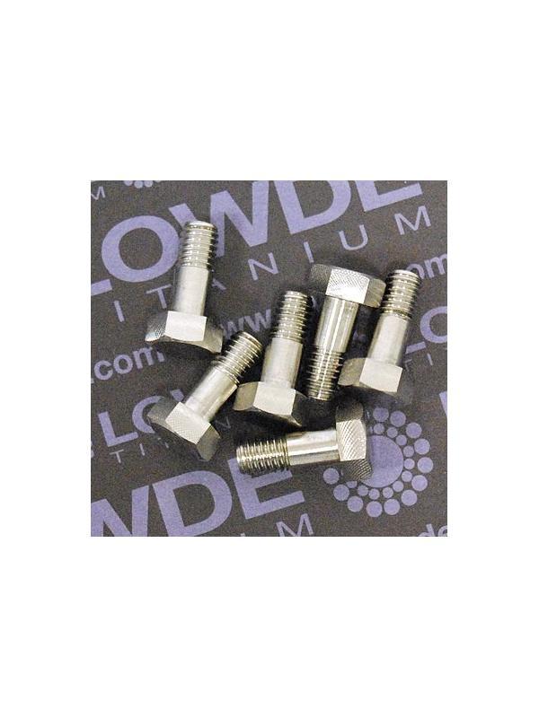 DIN 931 M6x15 mm. de titanio gr. 5 (6Al4V) - DIN 931 M6x15 mm. de titanio gr. 5 (6Al4V)