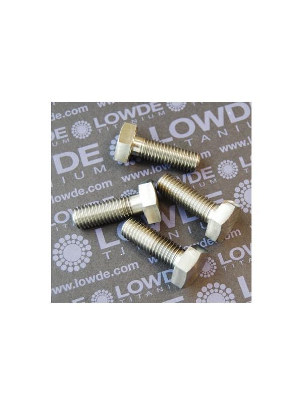 DIN 933 M10x30 mm. de titanio gr. 5 (6Al4V) - DIN 933 M10x30 mm. de titanio gr. 5 (6Al4V)