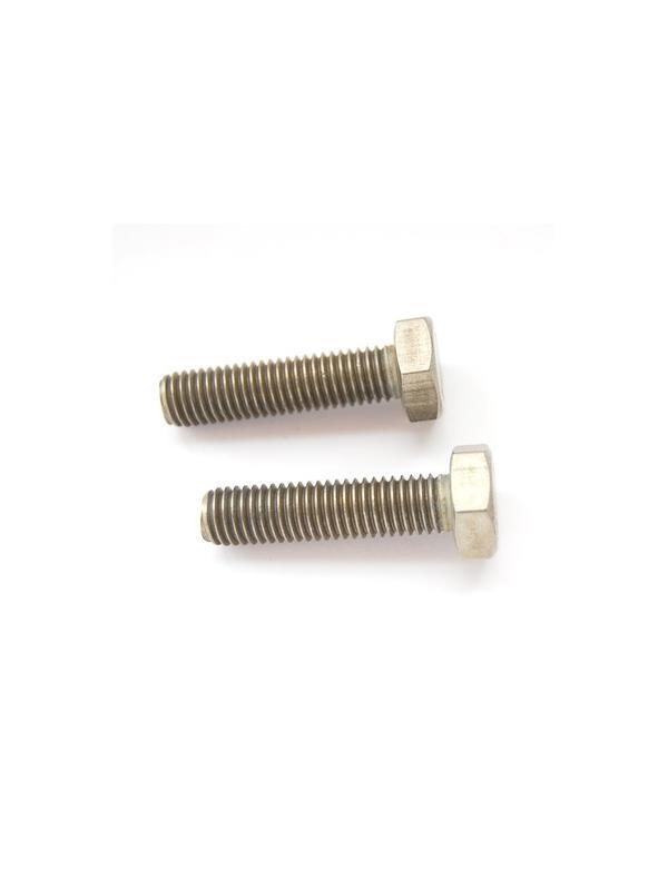 Tornillo DIN 933 M10x40 mm. de titanio gr. 2 (puro) - Tornillo DIN 933 M10x40 mm. de titanio gr. 2 (puro)