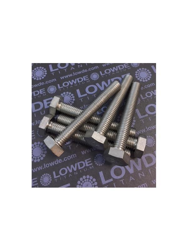 Tornillo DIN 933 M10x70 mm. de titanio gr. 2 (puro) - Tornillo DIN 933 M10x70 mm. de titanio gr. 2 (puro)