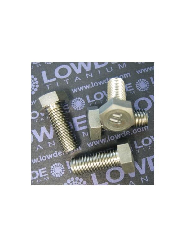 Tornillo DIN 933 M12x30 mm. de titanio gr. 2 (puro) - Tornillo DIN 933 M12x30 mm. de titanio gr. 2 (puro)