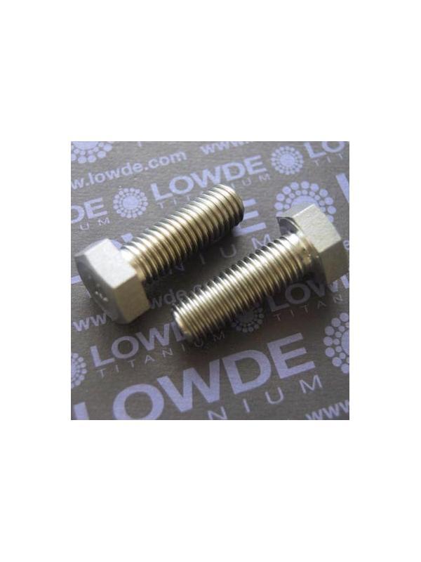 Tornillo DIN 933 M12x35 mm. de titanio gr. 2 (puro) - Tornillo DIN 933 M12x35 mm. de titanio gr. 2 (puro)
