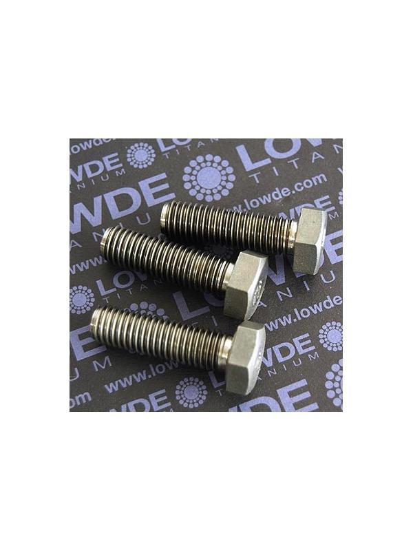 Tornillo DIN 933 M12x40 mm. de titanio gr. 2 (puro) - Tornillo DIN 933 M12x40 mm. de titanio gr. 2 (puro)