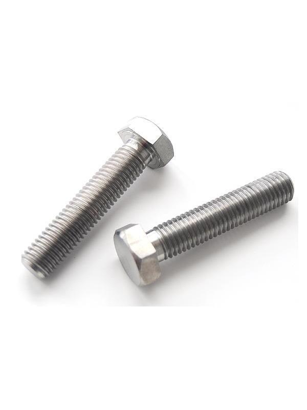 Tornillo DIN 933 M14x65 mm. de titanio gr. 2 (puro)