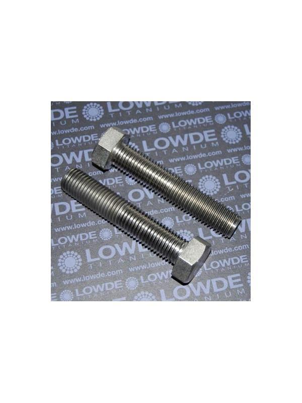 Tornillo DIN 933 M20x100 mm. de titanio gr. 2 (puro) - Tornillo DIN 933 M20x100 mm. de titanio gr. 2 (puro)