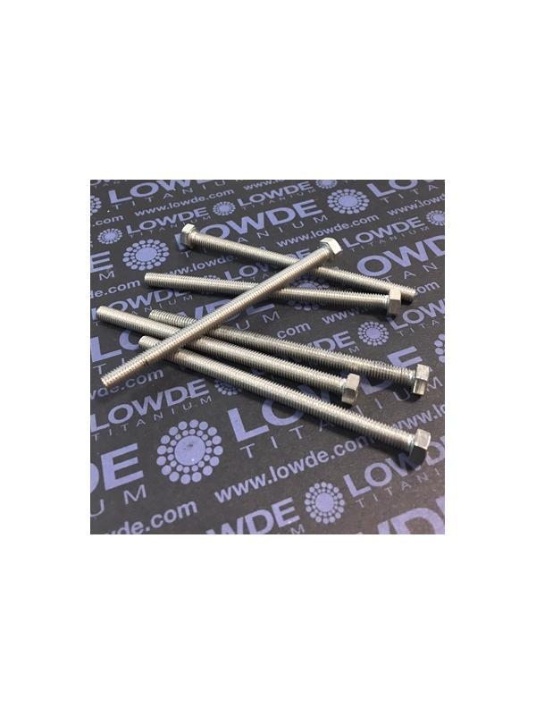 Tornillo DIN 933 M5x80 mm. de titanio gr. 2 (puro) - Tornillo DIN 933 M5x80 mm. de titanio gr. 2 (puro)