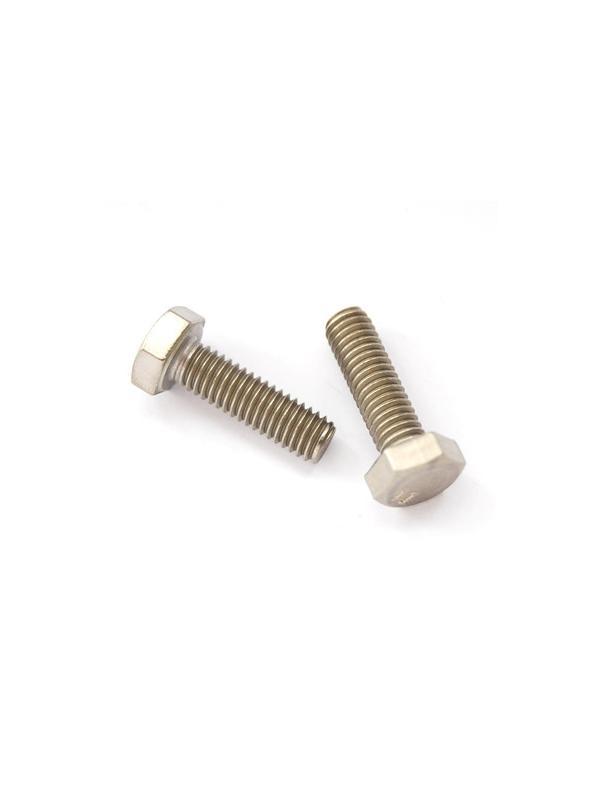 Tornillo DIN 933 M6x20 mm. de titanio gr. 2 (puro) - Tornillo DIN 933 M6x20 mm. de titanio gr. 2 (puro)