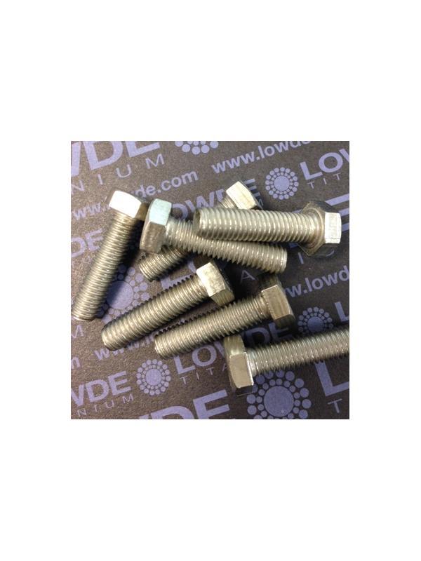 Tornillo DIN 933 M8x30 mm. de titanio gr. 2 (puro) - Tornillo DIN 933 M8x30 mm. de titanio gr. 2 (puro)