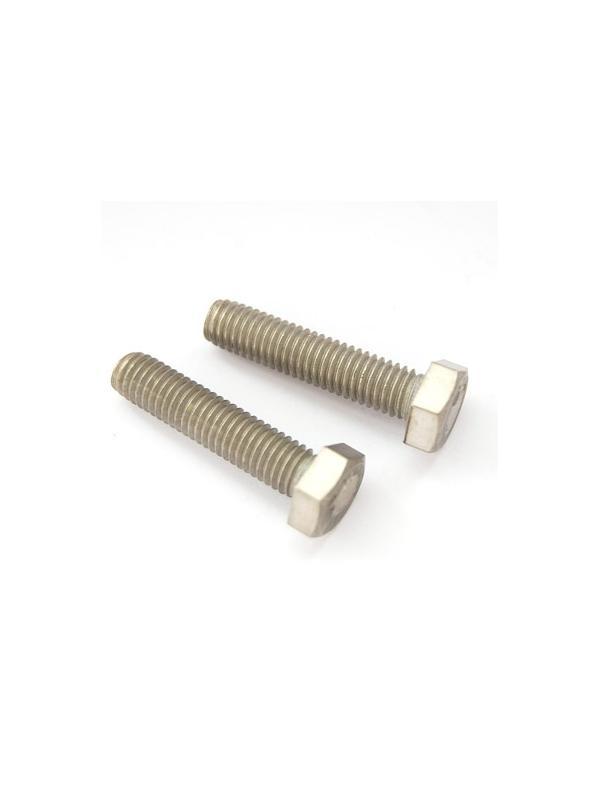 Tornillo DIN 933 M8x35 mm. de titanio gr. 2 (puro) - Tornillo DIN 933 M8x35 mm. de titanio gr. 2 (puro)