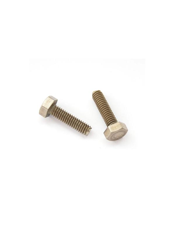Tornillo DIN 933 M4x15 mm. de titanio gr. 2 (puro) - Tornillo DIN 933 M4x15 mm. de titanio gr. 2 (puro)