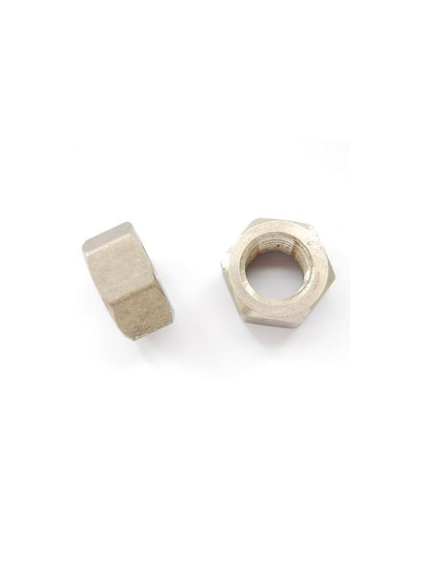 Tuerca DIN 934 M16 de titanio gr. 2 (puro) - Tuerca DIN 934 M16 de titanio gr. 2 (puro)