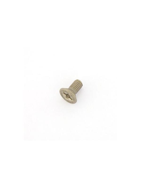 Tornillo DIN 965 M3x6 mm. de titanio gr. 2 (puro) - Tornillo DIN 965 M3x6 mm. de titanio gr. 2 (puro)