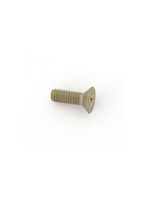 Tornillo DIN 965 M4x12 mm. de titanio gr. 2 (puro) - Tornillo DIN 965 M4x12 mm. de titanio gr. 2 (puro)