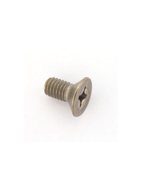 Tornillo DIN 965 M6x12 mm. de titanio gr. 2 (puro) - Tornillo DIN 965 M6x12 mm. de titanio gr. 2 (puro)