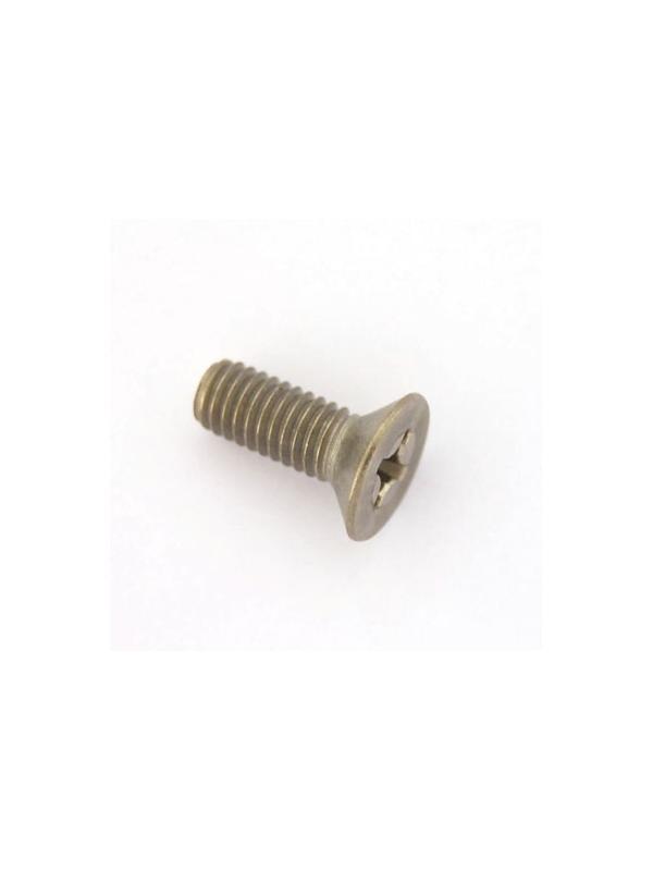Tornillo DIN 965 M6x16 mm. de titanio gr. 2 (puro) - Tornillo DIN 965 M6x16 mm. de titanio gr. 2 (puro)