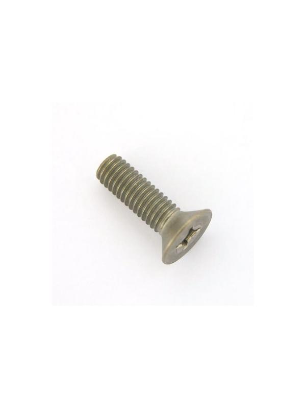 Tornillo DIN 965 M6x20 mm. de titanio gr. 2 (puro) - Tornillo DIN 965 M6x20 mm. de titanio gr. 2 (puro)