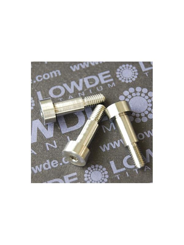 Din 7981 6,5x12 M5 Mecanizada en titanio gr. 5 (6Al4V) - Din 7981 6,5x12 M5 Mecanizada en titanio gr. 5 (6Al4V)