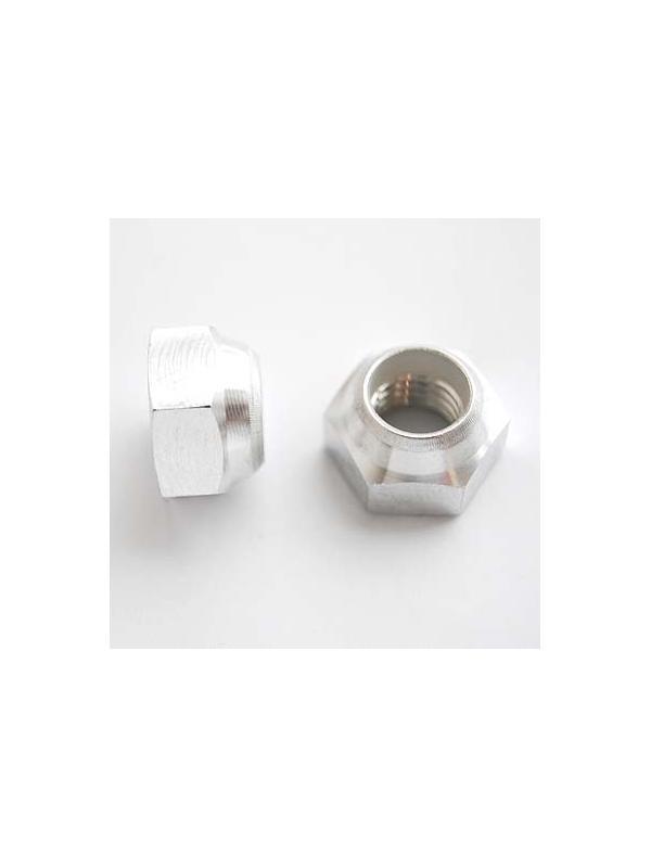 Tuerca DIN 985 M12x1,75 autoblocante de Aluminio E.N. 5754 - Tuerca DIN 985 M12x1,75 autoblocante de Aluminio E.N. 5754