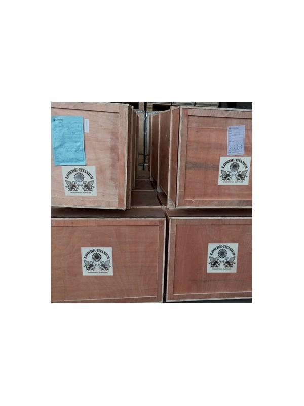 Tubos y accesorios gran diámetro: DN300 Y DN600 de Titanio gr. 2 - Tubos, reductores, codos, etc. DN300 y DN600 de Titanio grado 2