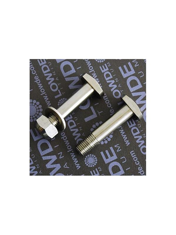 Eje amortiguador M10x47 mm. de titanio gr. 5 (6Al4V). Rosca 15 mm. - Eje amortiguador M10x47 mm. de titanio gr. 5 (6Al4V). Rosca 15 mm.