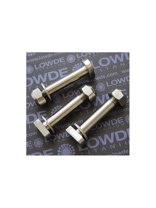 Eje amortiguador M10x58 mm. de titanio gr. 5 (6Al4V) - Eje amortiguador M10x58 mm. de titanio gr. 5 (6Al4V)