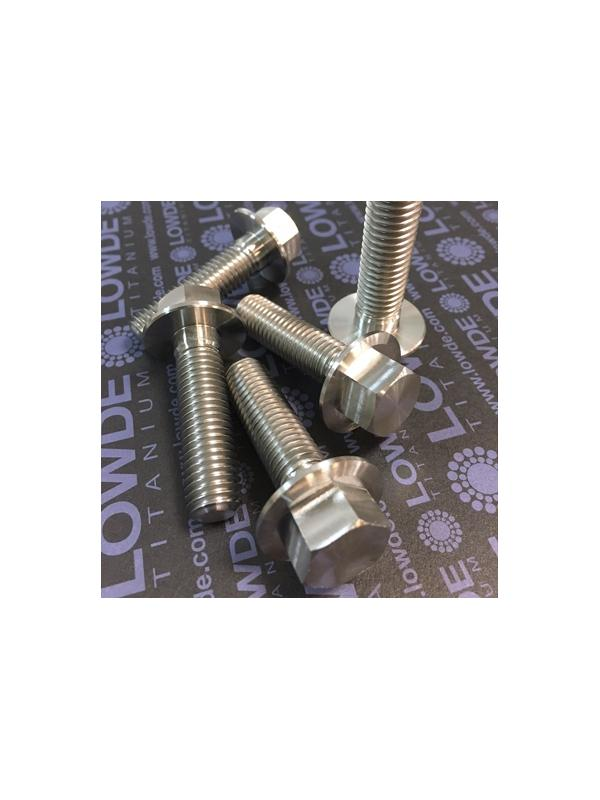 DIN 6921 M12x1,75x45 mm. de titanio gr. 5 (6Al4V) - DIN 6921 M12x1,75x45 mm. de titanio gr. 5 (6Al4V)