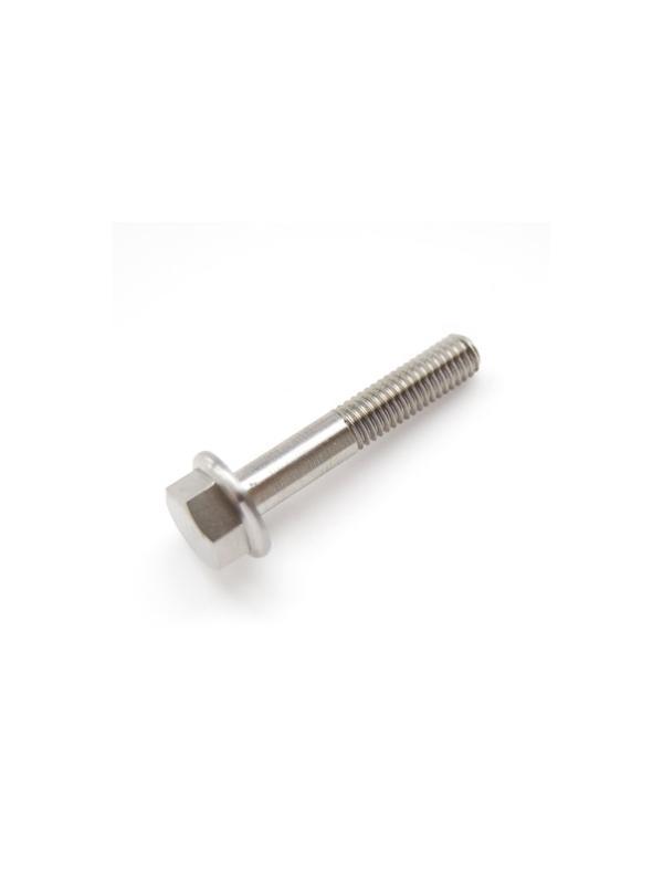 DIN 6921 M6x35 mm. de Titanio gr. 5 (6Al4V) - DIN 6921 M6x35 mm. de Titanio gr. 5 (6Al4V). Roscado 18 mm.