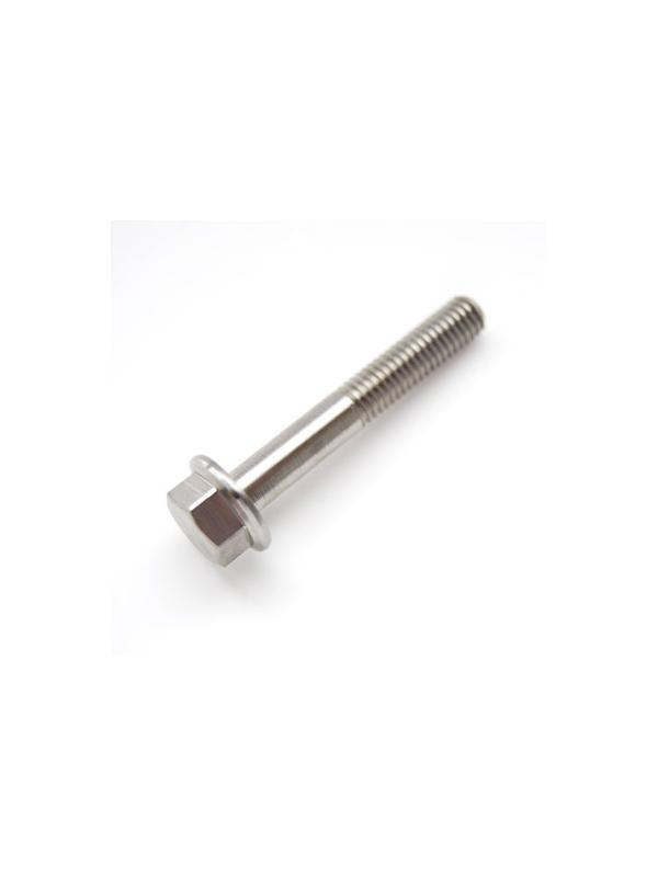 DIN 6921 M6x40 mm. de Titanio gr. 5 (6Al4V) - DIN 6921 M6x40 mm. de Titanio gr. 5 (6Al4V). Roscado 20 mm.