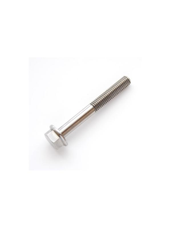 DIN 6921 M6x50 mm. de Titanio gr. 5 (6Al4V) - DIN 6921 M6x50 mm. de Titanio gr. 5 (6Al4V). Roscado 25 mm.
