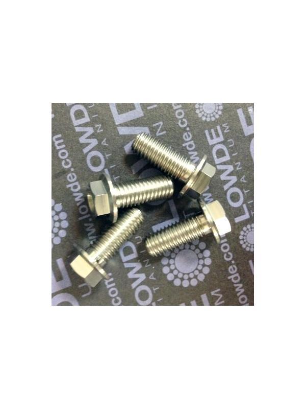 HEXAGONAL CON BALONA M8x20 mm. titanio gr. 5 (6Al4V) - HEXAGONAL CON BALONA M8x20 mm. titanio gr. 5 (6Al4V).