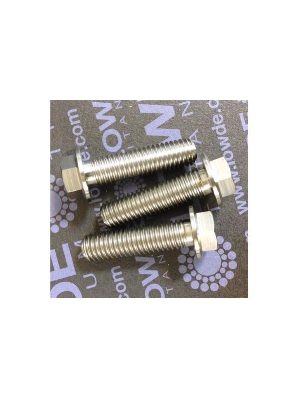 HEXAGONAL CON BALONA M8x30 mm. titanio gr. 5 (6Al4V) - HEXAGONAL CON BALONA M8x30 mm. titanio gr. 5 (6Al4V).
