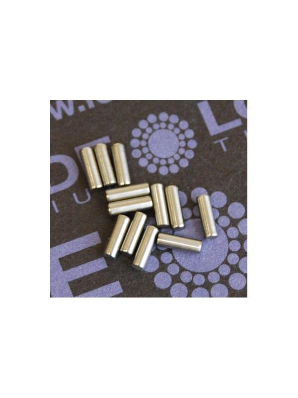 Pin ISO 2338 Ø2x6 mm. tol. h8 de Titanio gr. 5 (6Al4V) - Pin ISO 2338 Ø2x6 mm. tol. h8 de Titanio gr. 5 (6Al4V)