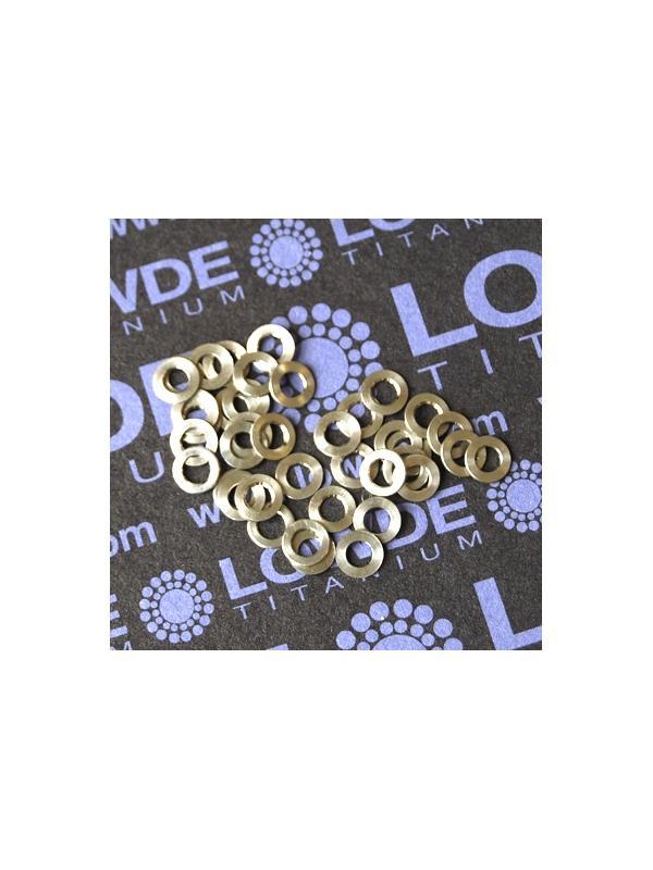 Arandela LN9016 M3 titanio gr. 5 (6Al4V) - Arandela LN9016 M3 titanio gr. 5 (6Al4V)