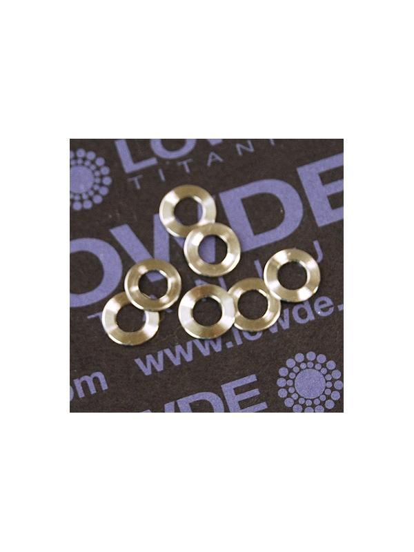 Arandela LN9016 M4 titanio gr. 5 (6Al4V) - Arandela LN9016 M4 titanio gr. 5 (6Al4V)