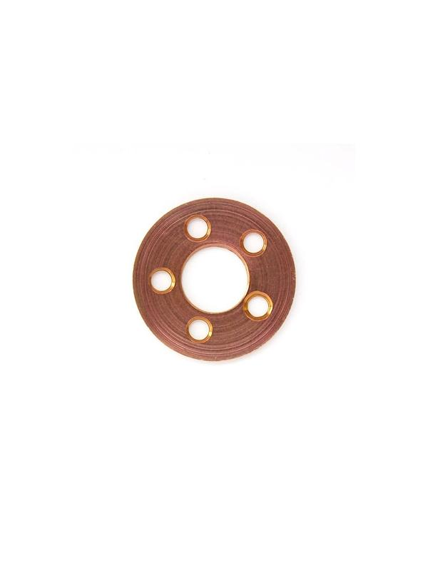 Arandela perforada M8 de Titanio gr. 5. Diametro ext.: 20 mm. Anod. rosa. - Arandela perforada M8 de Titanio gr. 5. Diametro ext.: 20 mm. Anod. rosa.
