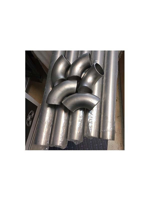 Codo 90º de TITANIO gr. 2 ASME B16.9,. Diámetro 48,3x2,77 mm. - Codo 90º de TITANIO gr. 2 ASME B16.9,. Diámetro 48,3x2,77 mm.