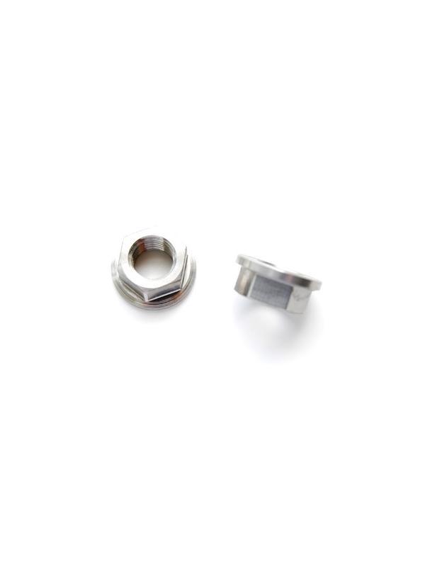 Tuerca DIN 6923 M10x1,25 de titanio gr. 5 (6Al4V). - Tuerca DIN 6923 M10x1,25 de titanio gr. 5 (6Al4V).