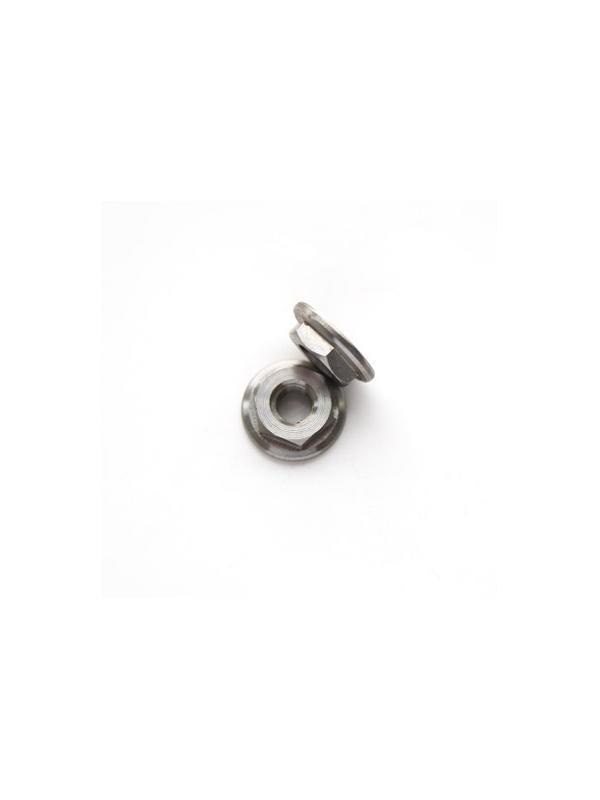 Tuerca DIN 6923 M4 de titanio gr. 5 (6Al4V) - Tuerca DIN 6923 M4 de titanio gr. 5 (6Al4V)