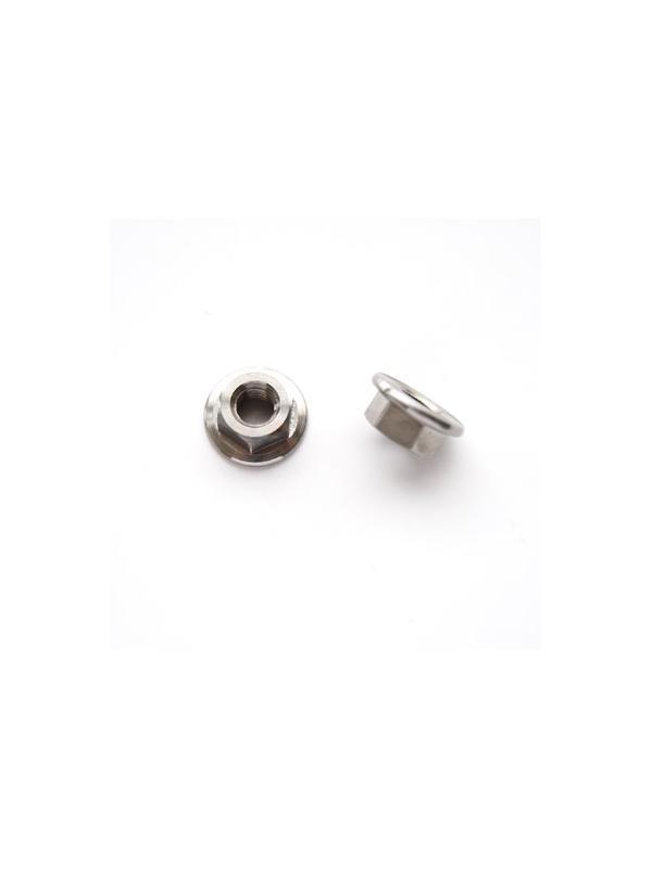 Tuerca DIN 6923 M5 de titanio gr. 5 (6Al4V) - Tuerca DIN 6923 M5 de titanio gr. 5 (6Al4V)